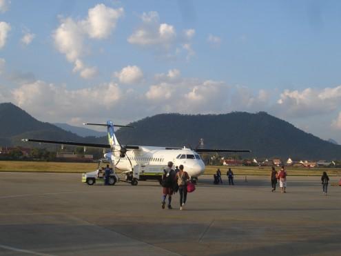 so ein kleines Flugzeug