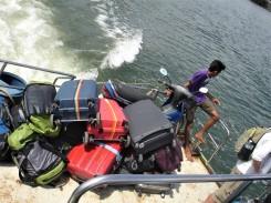 vorbildlicher Gepäcktransport