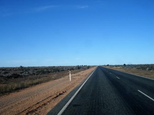 auf dem Eyre Highway