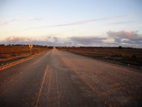 Zufahrt zur Farm