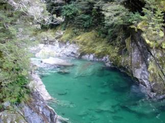 einer der Blue Pools