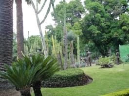 Skulpturen im Cuervo-Garten