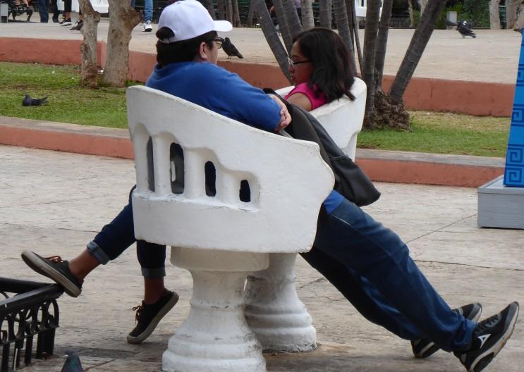 Sessel für Verliebte