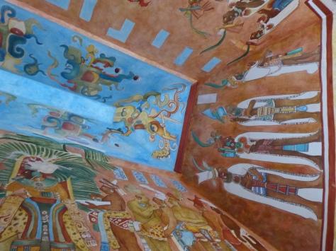 Das Innere einer Grabkammer