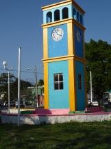 ein Uhrturm weist immer auf englische Vergangenheit hin