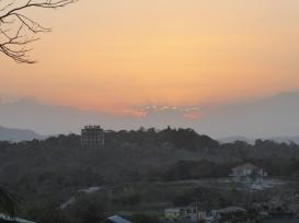 Sonnenuntergang in Guatemala
