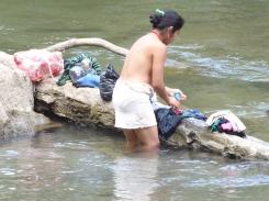 Wäschereinigung