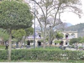 Parque Central mit Palacio los Capitanos