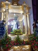 lebensgroße Jesusfigur für die Prozession