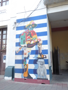 Wandbilder zum politischen Widerstand