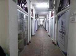 ein ganzer Block voller Läden